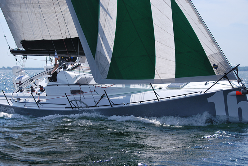 Sail sailing trip with the Class40 in the Mediterranean Valencia Marbella Mallorca with Sailing Deluxe
