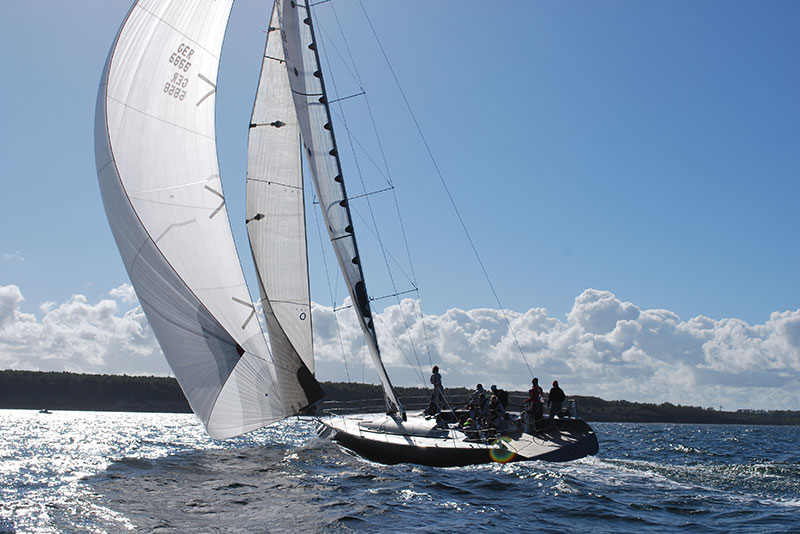 Sailing Deluxe Yachts Ember Sea sailing trip charter trips Rostock Baltic Sea