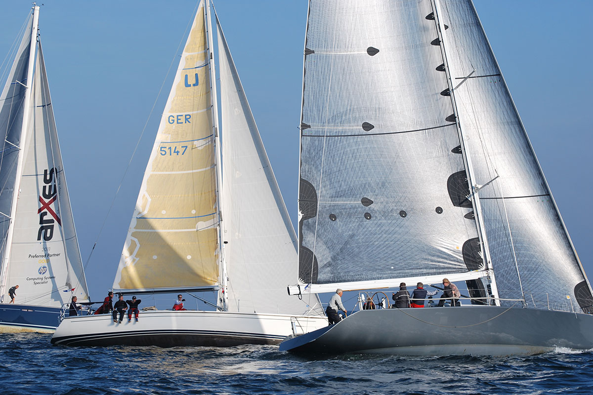 Fleetrace Flottenrennen Incentive Regatta-Feeling Segeln Rostock Warnemünde
