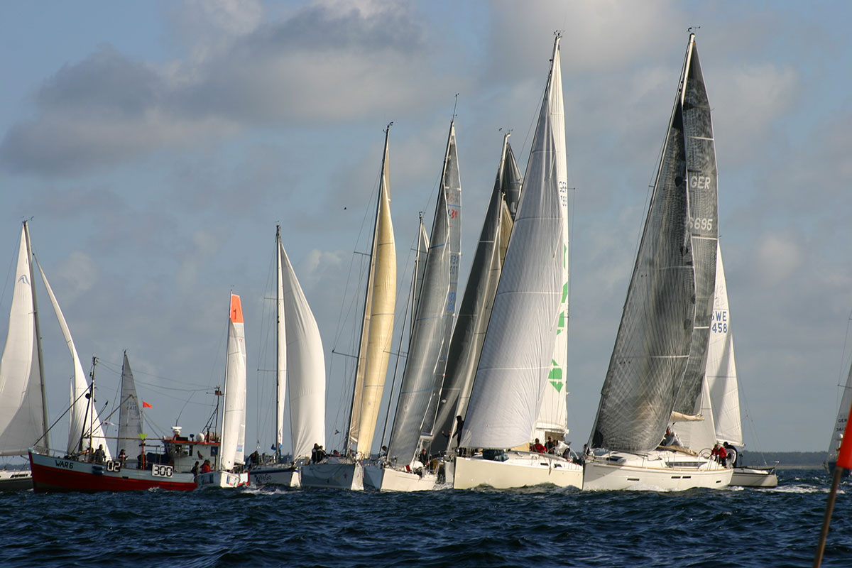 Fleetrace Fleet Race Incentive Regatta Feeling Sail Rostock Warnemünde