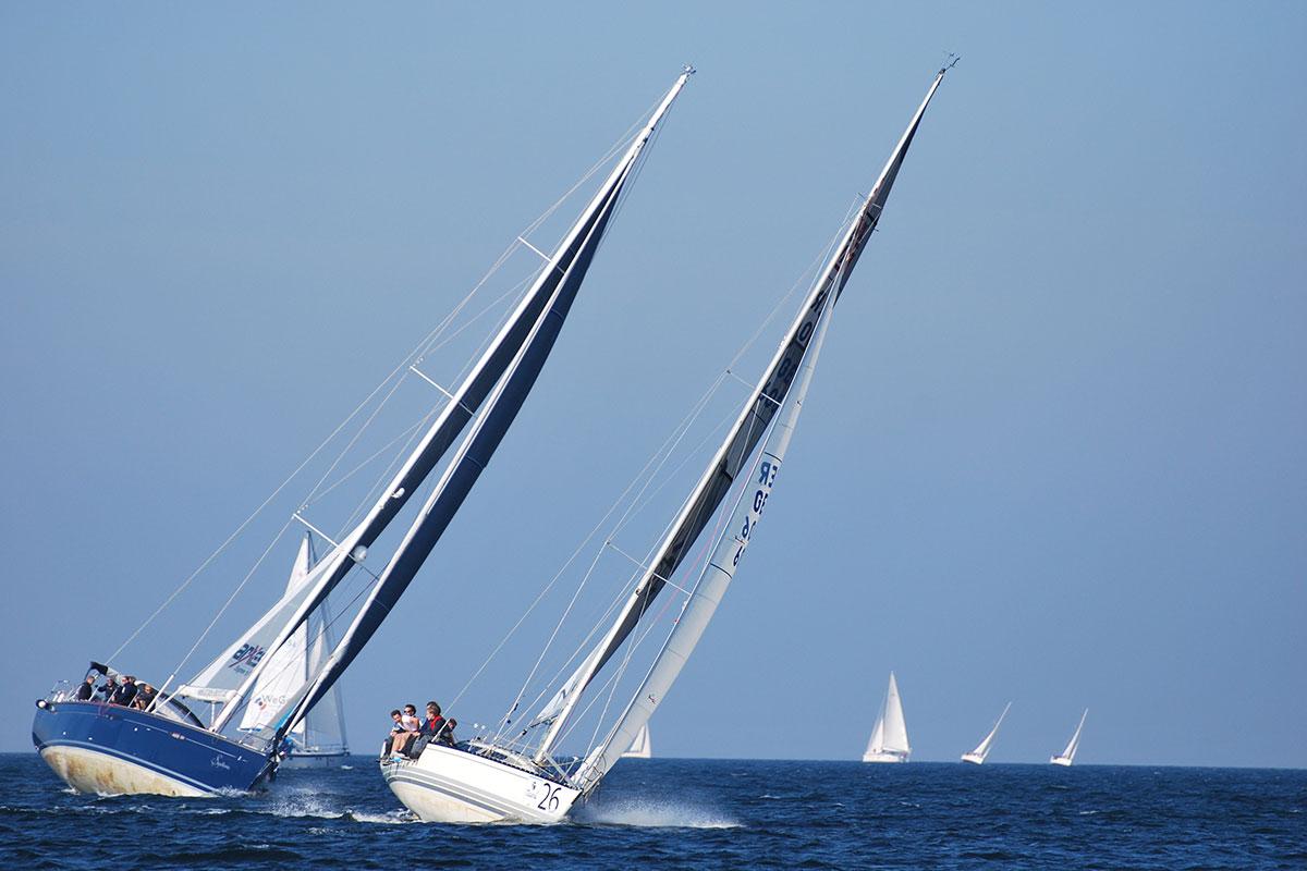 Matchrace Incentice Segeln Yachten Duell Ostsee Rostock Warnemünde mit Sailing Deluxe