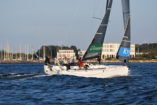 Trial sailing sailing school for all ages in Rostock Warnemünde Baltic Sea with Sailing Deluxe