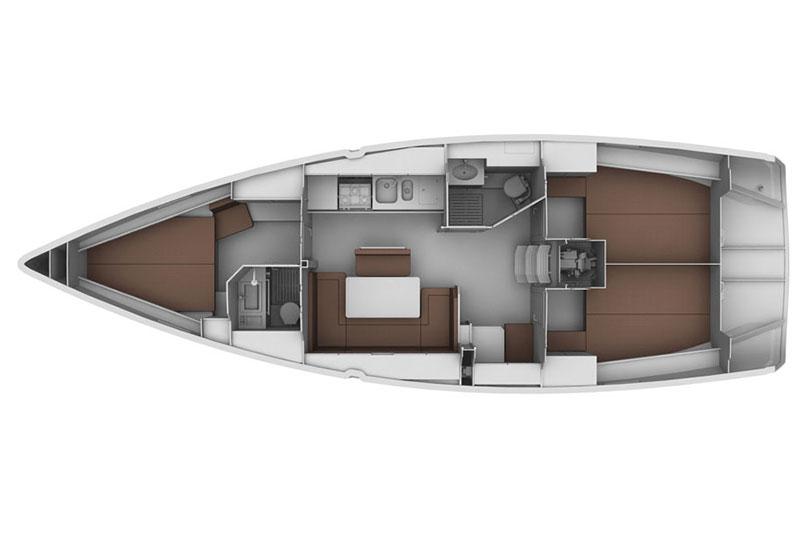 Sailing Deluxe Bavaria 40 Cruiser Yacht chartern Segeln Segeltörn Ostsee Rostock Warnemünde